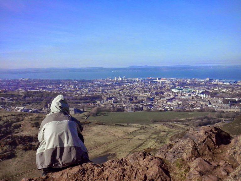 Edimburgo desde Arthur Hill
