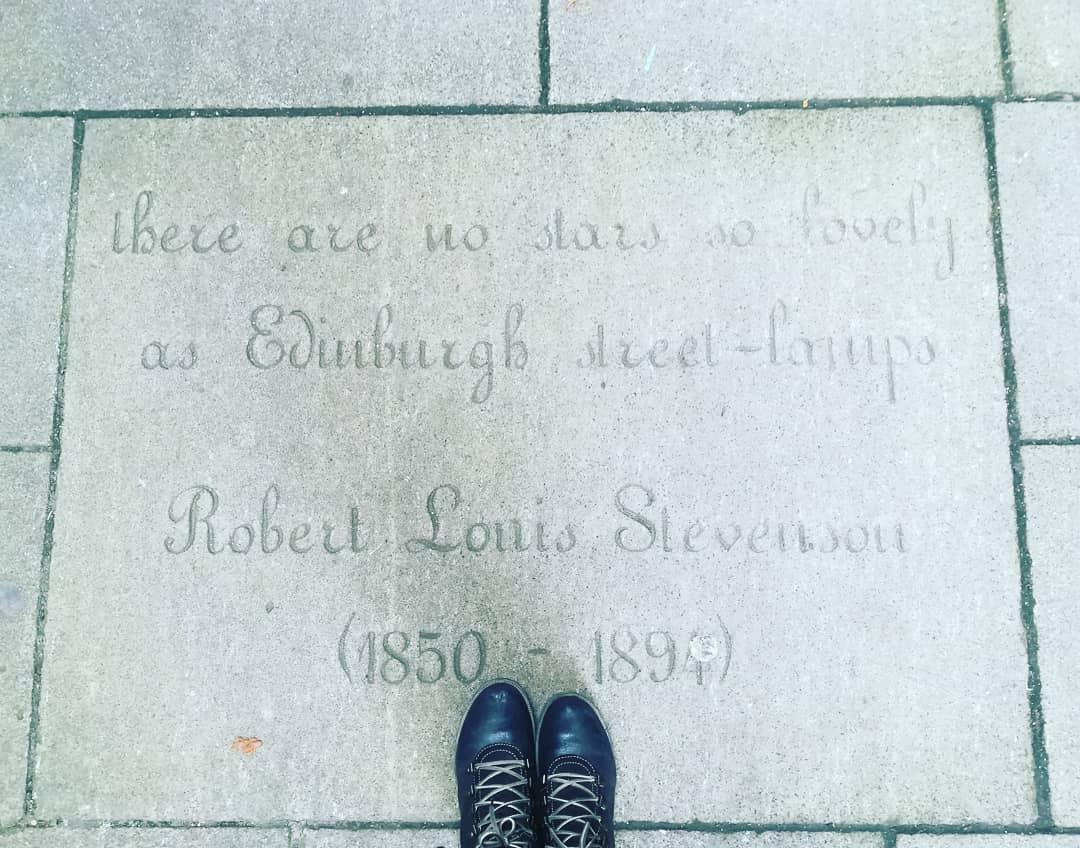 La Edimburgo de Robert Louis Stevenson