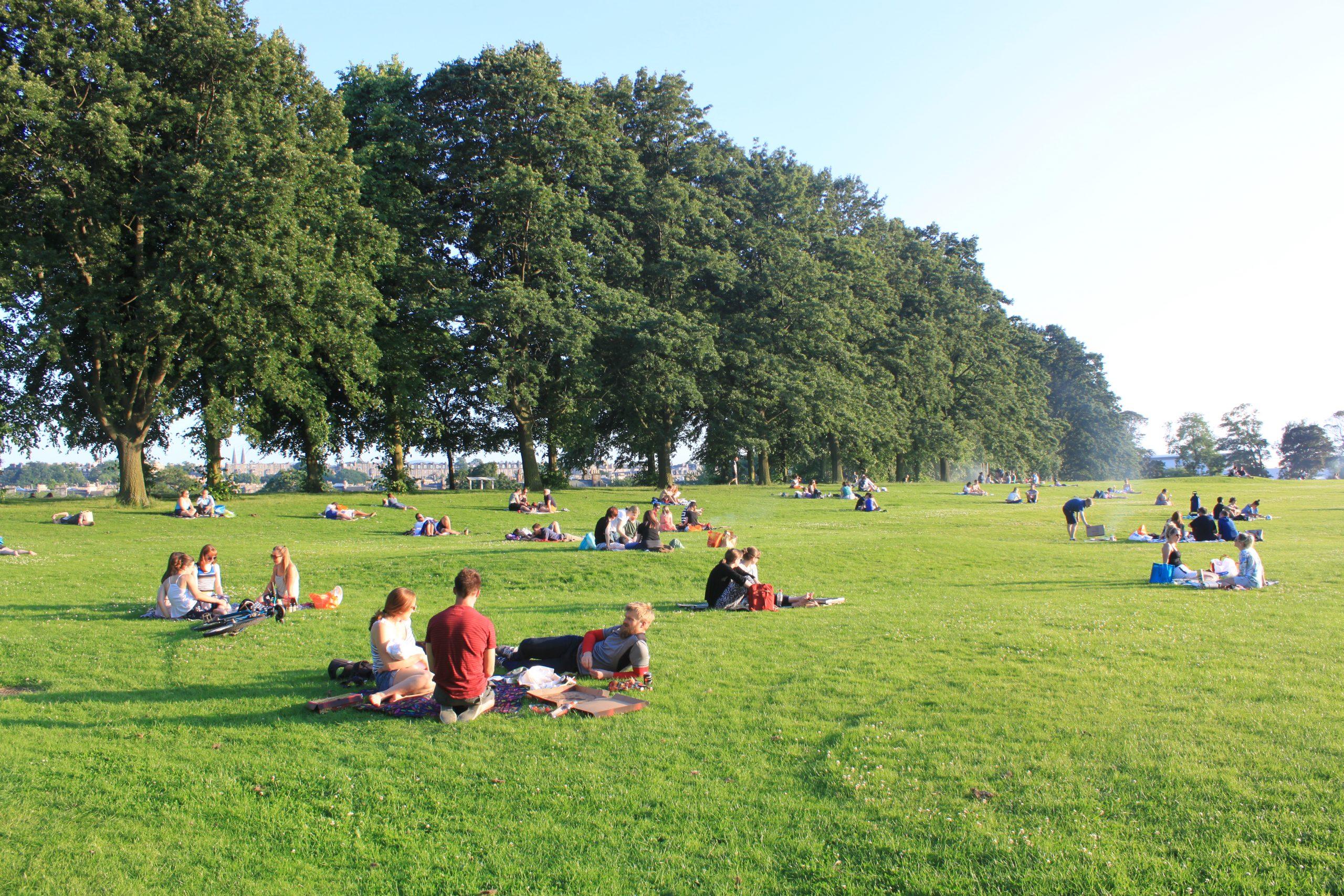 Tres de los mejores parques de Edimburgo