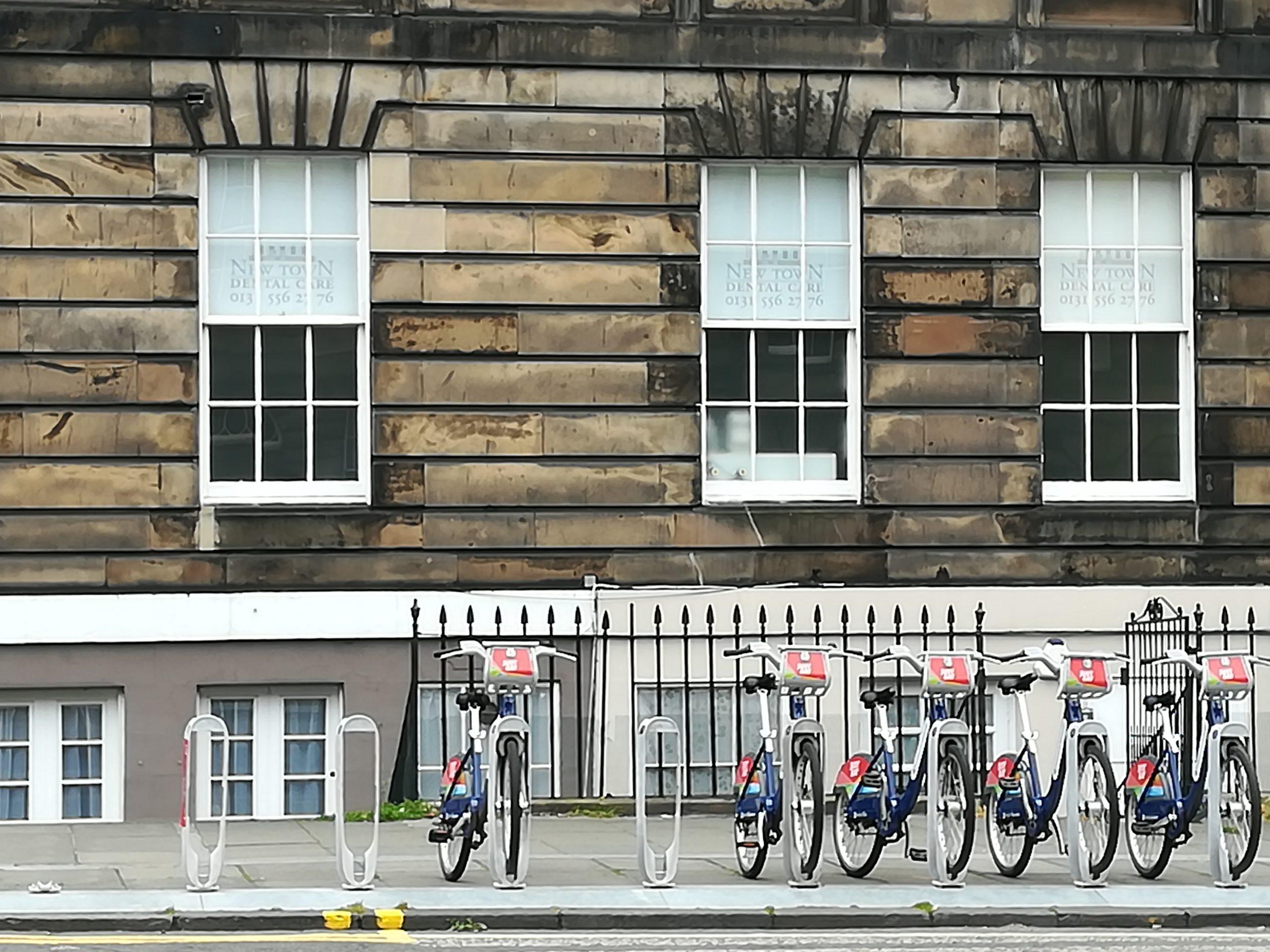 En bici por Edimburgo:¿Pedaleamos?